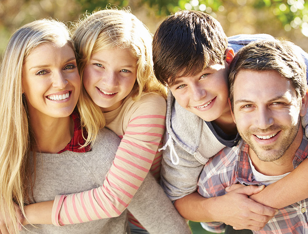 family reunification counseling, family is whole and happy together