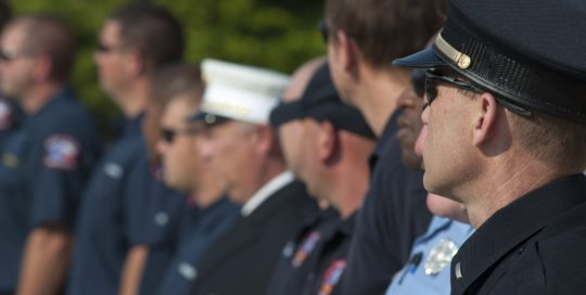 police officer first responder